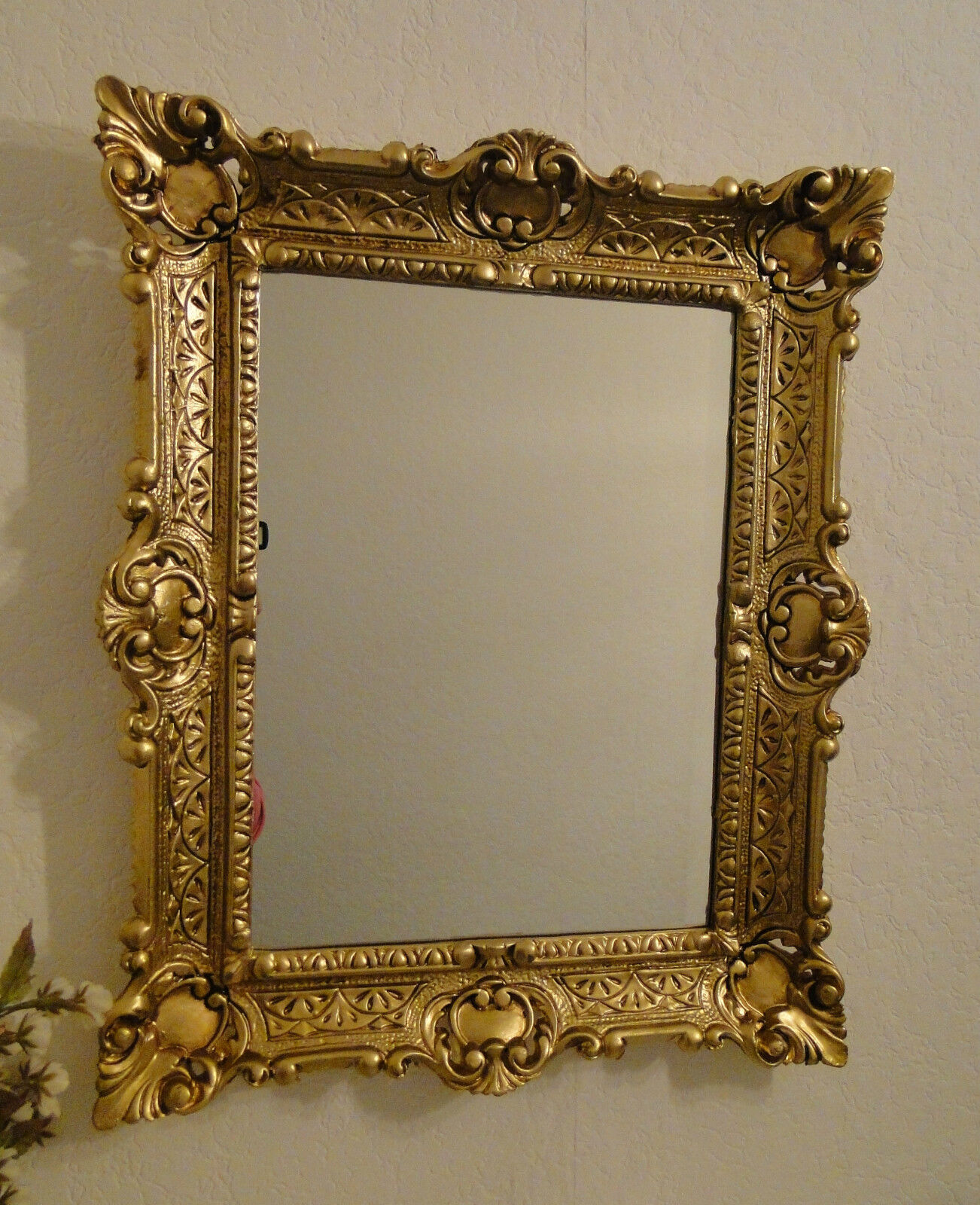 picture frame with glass baroque 56x46 30x40 photo frame antique selectable ebay. Black Bedroom Furniture Sets. Home Design Ideas