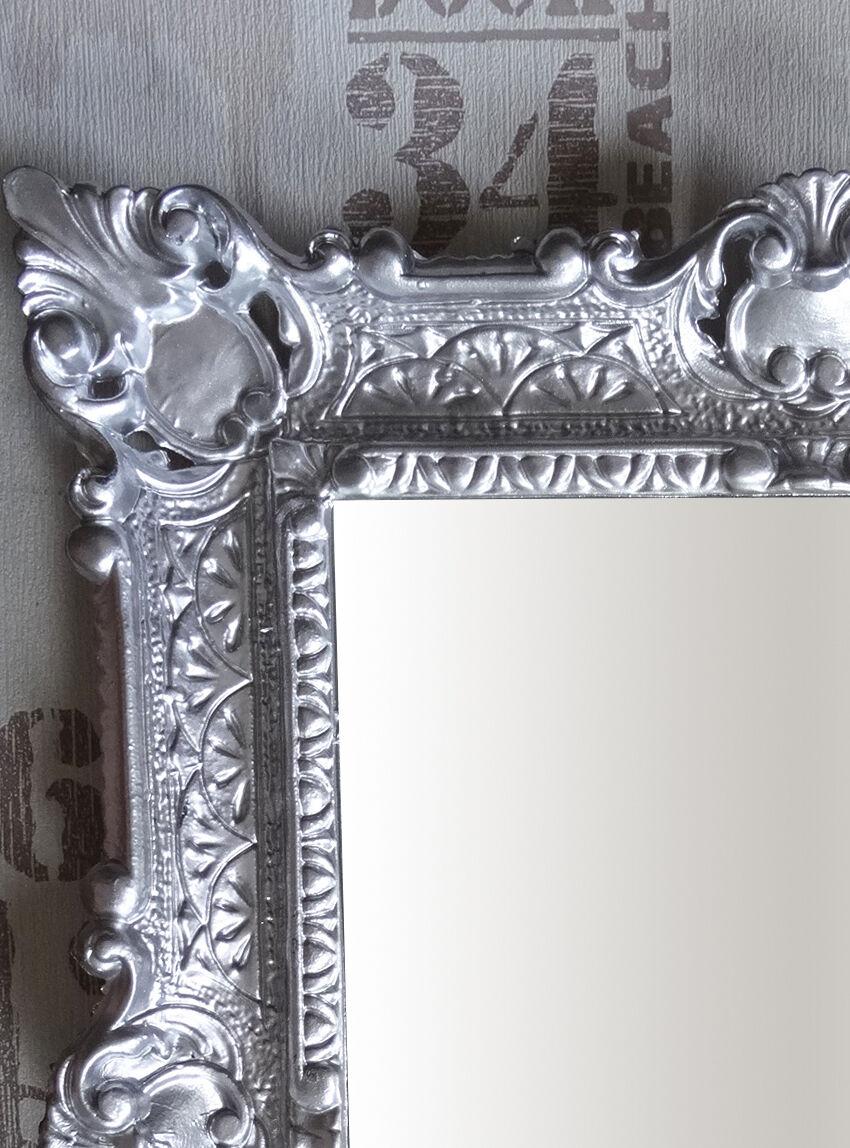 antik barock bilderrahmen silber 56x46 rechteckig repro 30x40 barockrahmen bild ebay. Black Bedroom Furniture Sets. Home Design Ideas