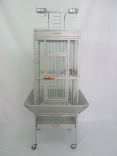 Bird Cage Large Parrot Playtop Perch Stand Cockatiel Parakeet in Pet Supplies, Bird Supplies, Cages | eBay