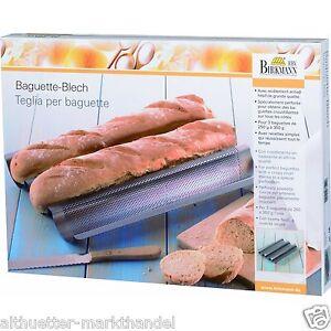 Birkmann-Baguette-Backform-Baguetteform-Backblech-ideal-fuer-den-Thermomix