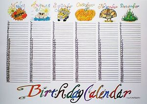 "Search Results for ""Birthday And Anniversary Calendar Template/page ..."
