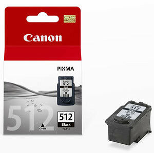 Black Ink Cartridge (PG512) for Canon Pr...