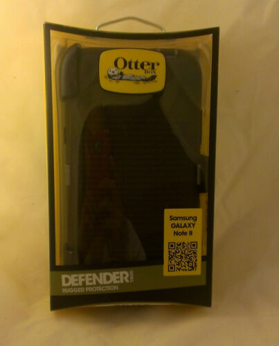 Black Knight OtterBox Defender Case for Samsung GALAXY Note II 2 Note2 NoteII in Cell Phones & Accessories, Cell Phone Accessories, Cases, Covers & Skins | eBay