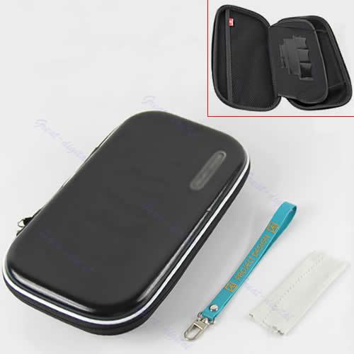 Black-Carry-Pocket-Case-Bag-Pouch-For-Nintendo-WII-U-Gamepad-Remote-Controller