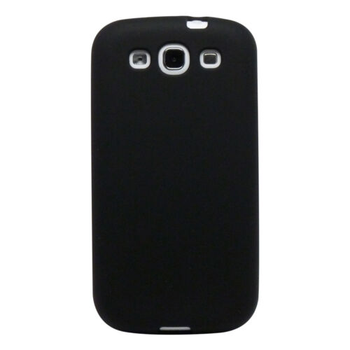 Black Soft Silicone Gel Rubber Skin Cover Case for Sprint Samsung Galaxy S III 3 in Cell Phones & Accessories, Cell Phone Accessories, Cases, Covers & Skins | eBay
