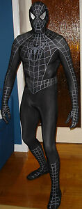 Black Suited Spider-man Venom Costume Movie Replica Mascot ...