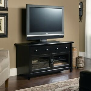 Black Tv Stand Flat Screen 44 Inch Television