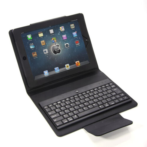 Black Wireless Bluetooth Keyboard Leather Stand Case For iPad 2 New 3 3rd Gen US in Computers/Tablets & Networking, iPad/Tablet/eBook Accessories, Cases, Covers, Keyboard Folios | eBay