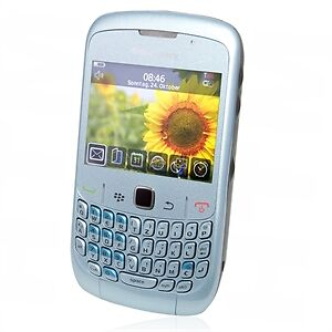 BlackBerry  Curve 8520 - Frost (Ohne Sim...