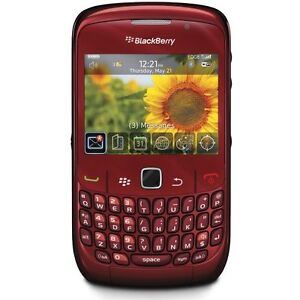 BlackBerry Curve 8520 - Red (Orange) Sma...