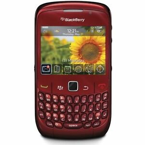 BlackBerry Curve 8520 - Red (Unlocked) S...