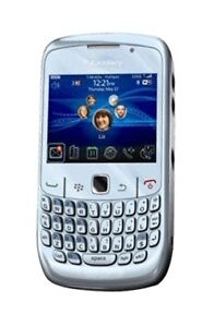 BlackBerry Curve 8520 - Silver (Orange) ...