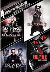 Blade Collection: 4 Film Favorites (DVD,...