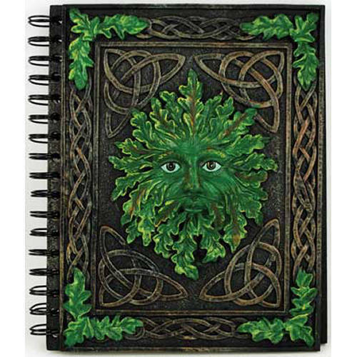 Blank Greenman Journal, Book of Shadows, Wicca, AGJ35 in Books, Accessories, Blank Diaries & Journals | eBay