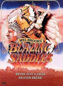 Blazing Saddles (DVD, 1997, Standard and...