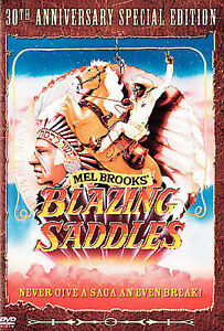 Blazing Saddles (DVD, 2006, 30th Anniver...