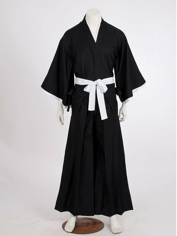 Bleach Kurosaki Ichigo Robe Cloak Coat Japanese Anime