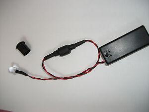 Blinklicht-Batteriebetrieben-Gruen-LED-10mm-Blinkintervall-Auswahl