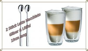 bloomix latte macchiato glas doppelwandig 350ml. Black Bedroom Furniture Sets. Home Design Ideas