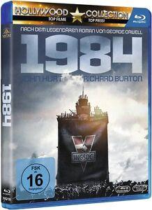 Blu-ray-GEORGE-ORWELL-1984-John-Hurt-Richard-Burton-NEU