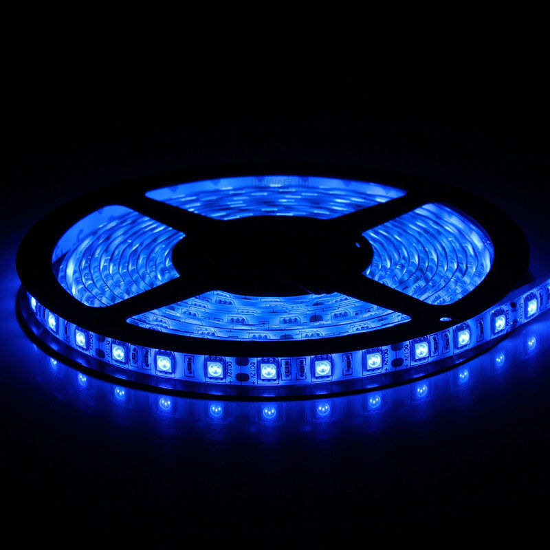 best blue 300 led 5m waterproof 5050 smd led strip lights. Black Bedroom Furniture Sets. Home Design Ideas