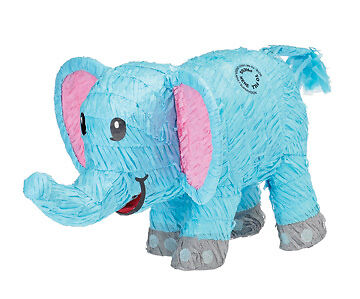 Blue Elephant Pinata   Kids Birthday Party Games and Supplies