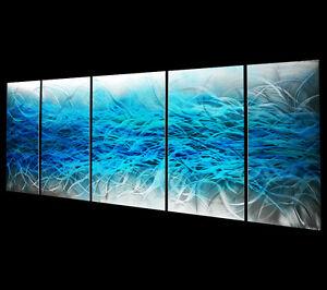 Abstract Metal Wall Decor