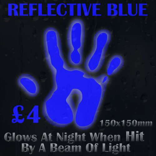 Blue Reflective Colour