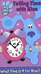 Blue's Clues - Telling Time With Blue (V...