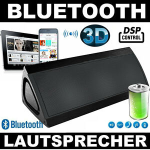 bluetooth lautsprecher mp3 pc iphone tablet 3d surround dsp fette bass kabellos ebay. Black Bedroom Furniture Sets. Home Design Ideas