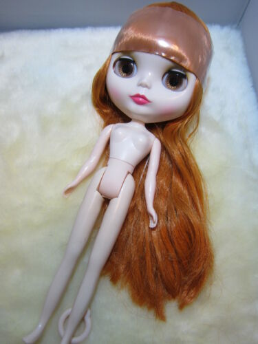 "Blythe Brown Orange Hair Factory Nude Doll 12"" in Dolls & Bears, Dolls, By Brand, Company, Character 