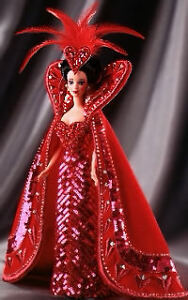 Bob Mackie Queen of Hearts 1994 Barbie D...