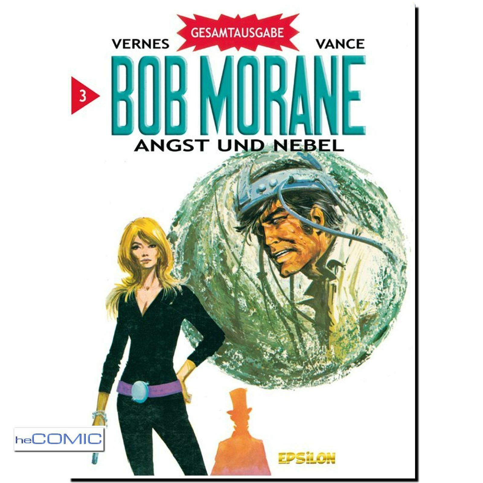 heComic.de, Bob Morane, SCIENCE FICTION KLASSIKER 60er, alle Bände
