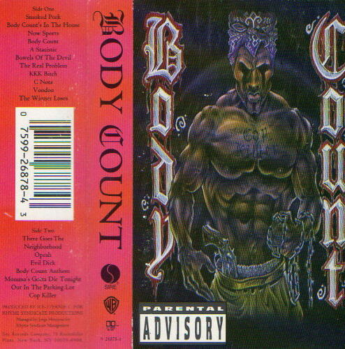 Body Count by Body Count (Cassette, Mar-1992, Sire)PARENTAL ADVISORY in Music, Cassettes | eBay