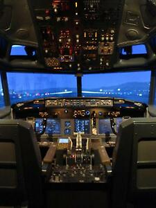 Boeing 737 Simulator For Sale http://www.ebay.com/itm/Boeing-737-ng-Flight-Simulator-Fixed-for-sale-/281017346689