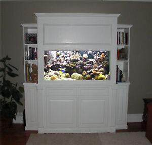 Bookshelf aquarium stand canopy plans ebay for 35 gallon fish tank