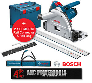 bosch gkt55gce 160mm plunge cut rail saw 1400w 240v not festool ts 55 ebay. Black Bedroom Furniture Sets. Home Design Ideas