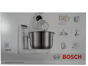 bosch k chenmaschine mum 4880 600 watt mixer entsafter edelstahl sch ssel neu ebay. Black Bedroom Furniture Sets. Home Design Ideas