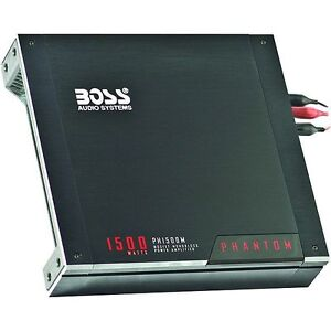 Boss PH1500M Car Amplifier