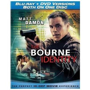 The Bourne Identity (Blu-ray/DVD, 2010)