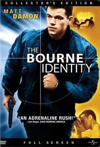 The Bourne Identity (DVD, 2003, Full Fra...