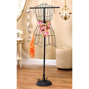 Home Decor Boutiques on Boutique Mannequin Wire Dress Form Vintage Home Decor   Ebay