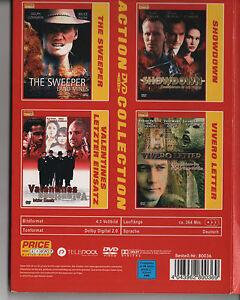 Box mit 4 Filmen auf 3 DVD Spannung/ Nervenkitzel / Action / Filme/ Krimi/ - <span itemprop='availableAtOrFrom'>Dohma, Deutschland</span> - Box mit 4 Filmen auf 3 DVD Spannung/ Nervenkitzel / Action / Filme/ Krimi/ - Dohma, Deutschland