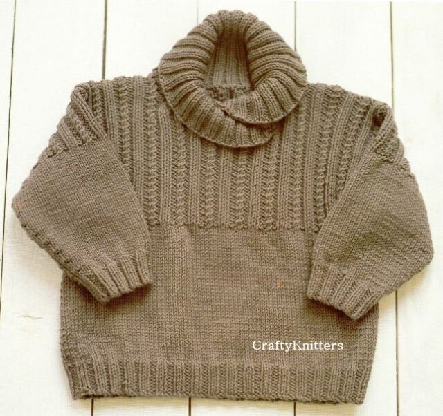 Knitting Mens Jumpers : Mens chunky knit wool jumper bronze cardigan
