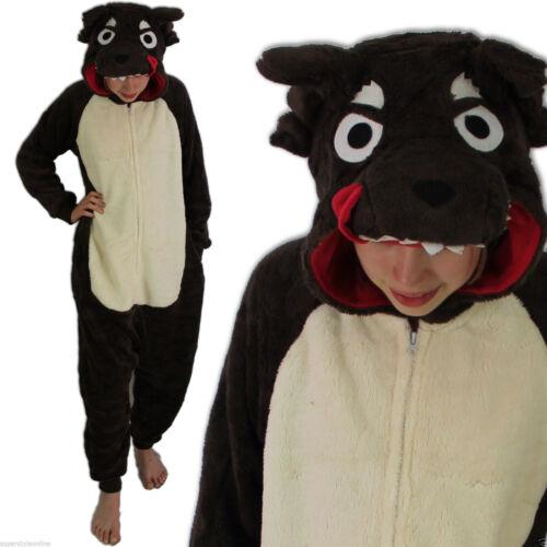 LA VISION Boys Gorilla Monkey Fleece Onesie Fancy Dress All in One Age 7 8 9 10 11 12 13