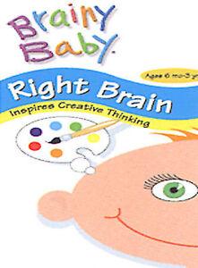 Brainy Baby - Right Brain (DVD, 2003)