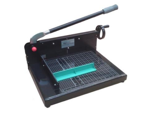 "Brand New 12"" Industrial Heavy Duty Metal Guillotine Paper Cutter - Black in Business & Industrial, Printing & Graphic Arts, Bindery & Finishing Equipment 