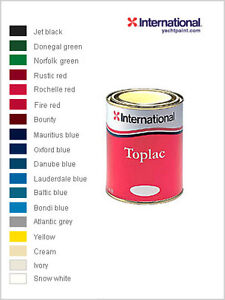 Brand New Boat Paint - International Toplac - 750ml - All colours ...