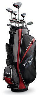 Brand New Callaway Strata Mens 13 pc Golf Clubs Set Right Hand Std Set & Bag RH in Sporting Goods, Golf, Clubs | eBay