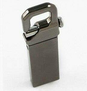 Brand New 8GB Metal Key Chain Clip 8GB USB Flash Memory Drive 4GB 16GB 32GB